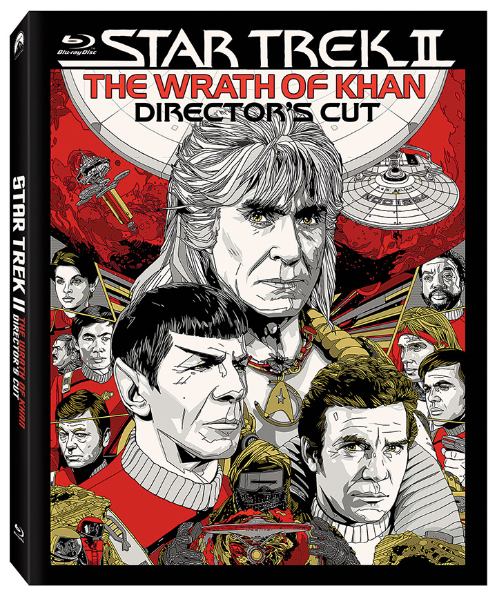 'Star Trek II: The Wrath of Khan' Director's Edition Coming to Blu-ray