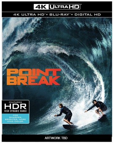 'Point Break' (2015) 4k Ultra HD Blu-ray Release Date & Details