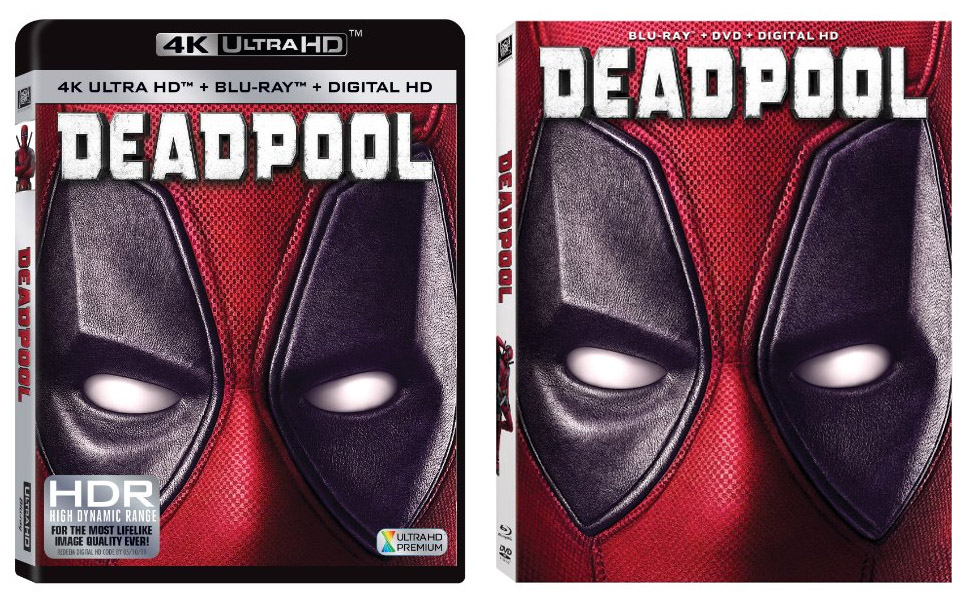 deadpool blu ray