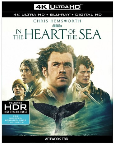 'In the Heart of the Sea' 4k Ultra HD Blu-ray Release Date & Extras