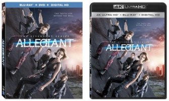 'The Divergent Series: Allegiant' 4k Ultra HD & Blu-ray Release Dates