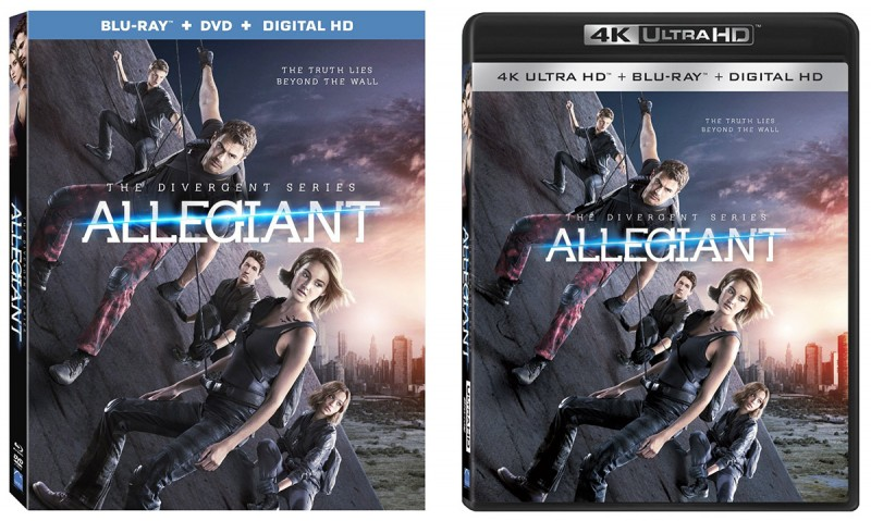 'The Divergent Series: Allegiant' Ultra HD & Blu-ray Bonus Material