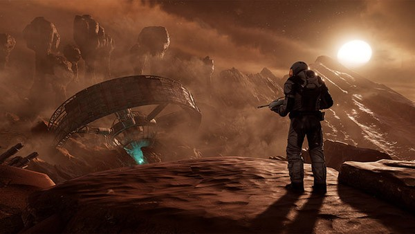 Farpoint VR game Screen1