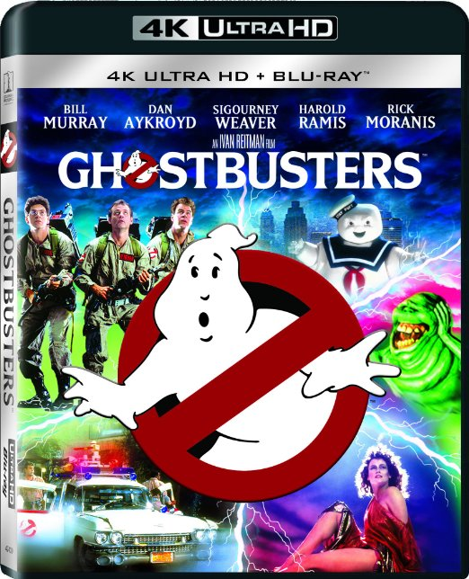 New 4k Ultra Hd Blu Ray Releases Include Ghostbusters