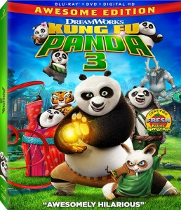 Kung Fu Panda 3 Blu-ray Awesome Edition 600px
