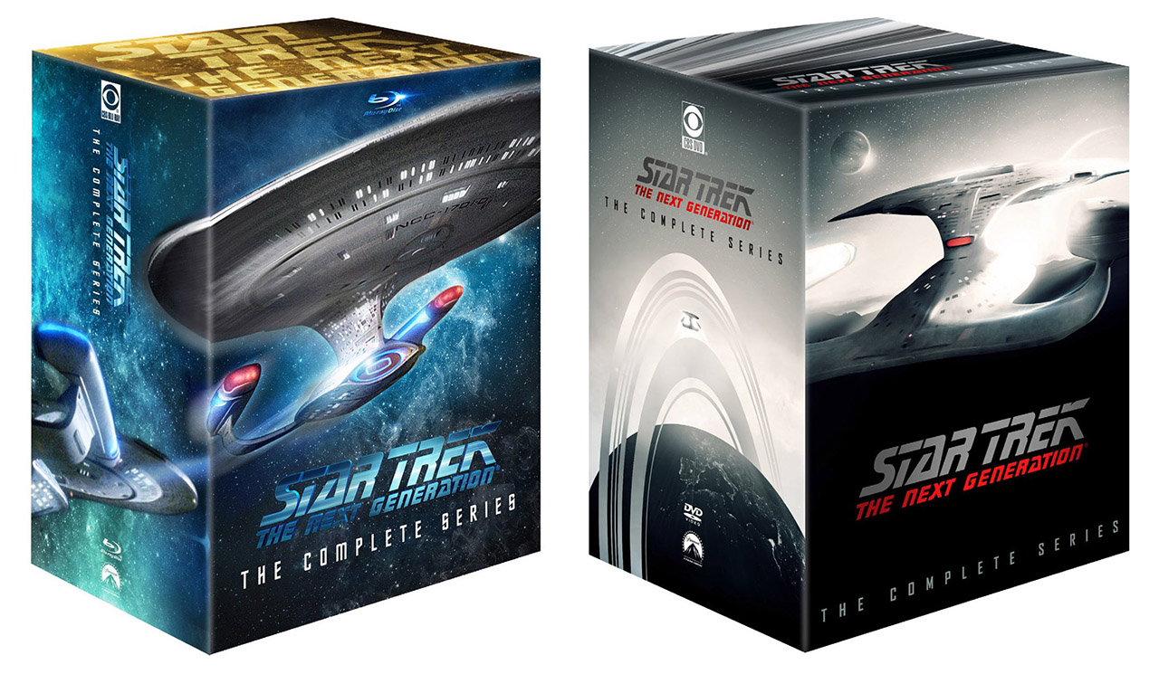 Star Trek: TNG The Complete Series Released to Blu-ray & DVD