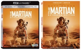 'The Martian Extended Cut' releasing to 4k Ultra HD Blu-ray