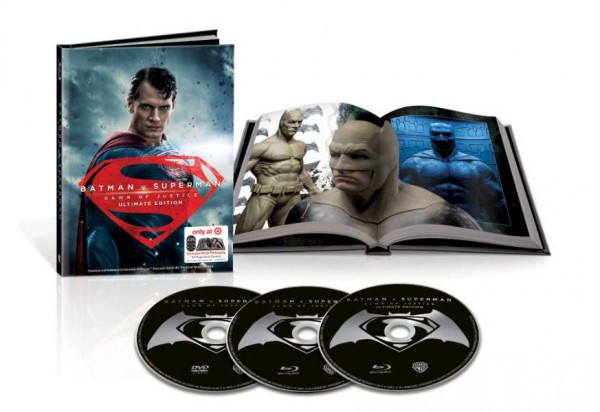 Batman v Superman: Dawn of Justice\u0026#39; Retailer Exclusive Blu-ray ...