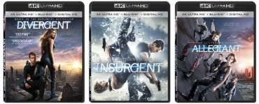 The 'Divergent' Series Films Headed for 4k Ultra HD Blu-ray