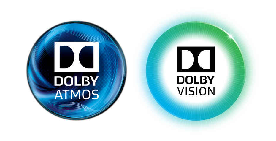 dolby vision dolby atmos logos