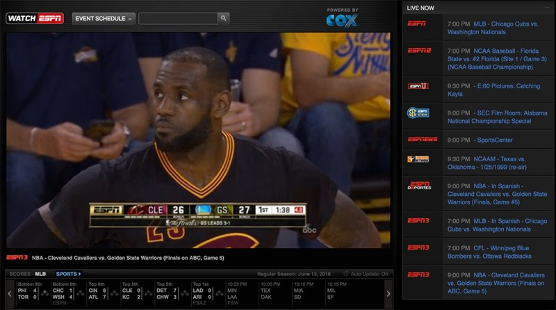ABC Live Not Available in Your Market? Here's Where to Stream NBA Finals.