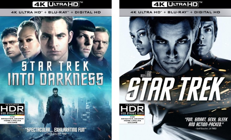 Two 'Star Trek' Films Get Released To 4k Ultra HD Blu-ray