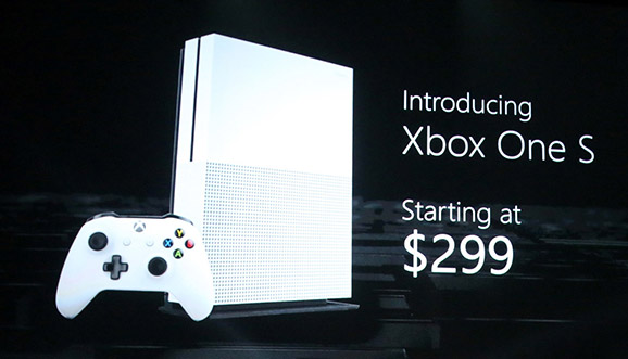 Microsoft debuts new Xbox One S