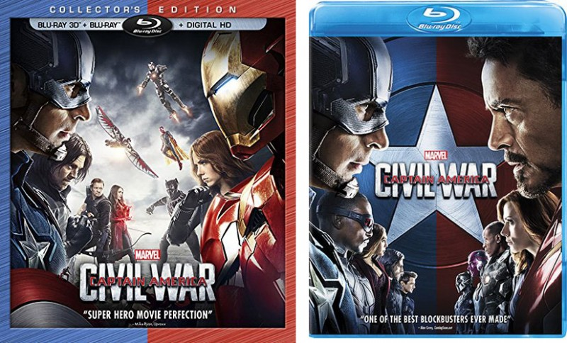 Marvel's 'Captain America: Civil War' Blu-ray & DVD Release Date