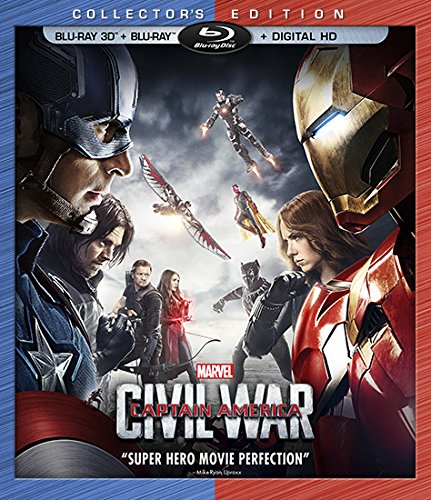 Marvel's Captain America- Civil War Blu-ray 3D