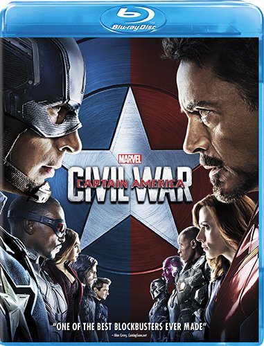 Marvel's Captain America- Civil War Blu-ray