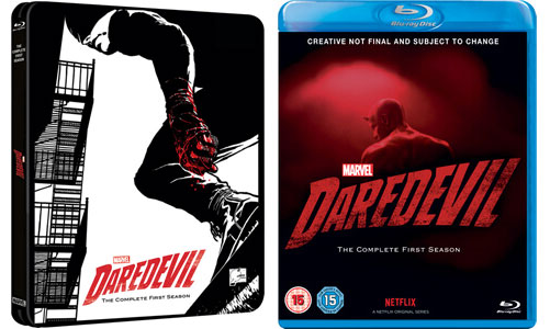 Marvel's Daredevil Season 1 Blu-ray/DVD Release Date Spotted in UK
