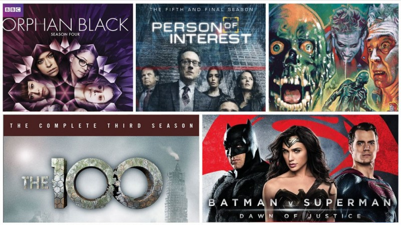 New On Blu-ray This Week: Batman v Superman, Orphan Black S4, & More