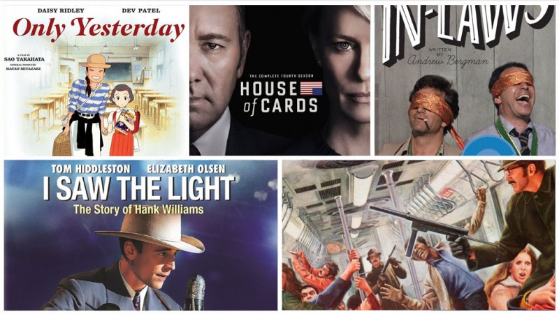 New Releases This Week: Only Yesterday, Barbershop Next Cut, House of Cards S4, & More