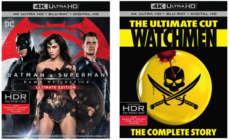 Two 4k Blu-ray Titles with HDR Released Today from Warner Video