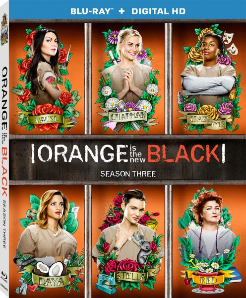 Orange Is The New Black Season 3 Blu-ray