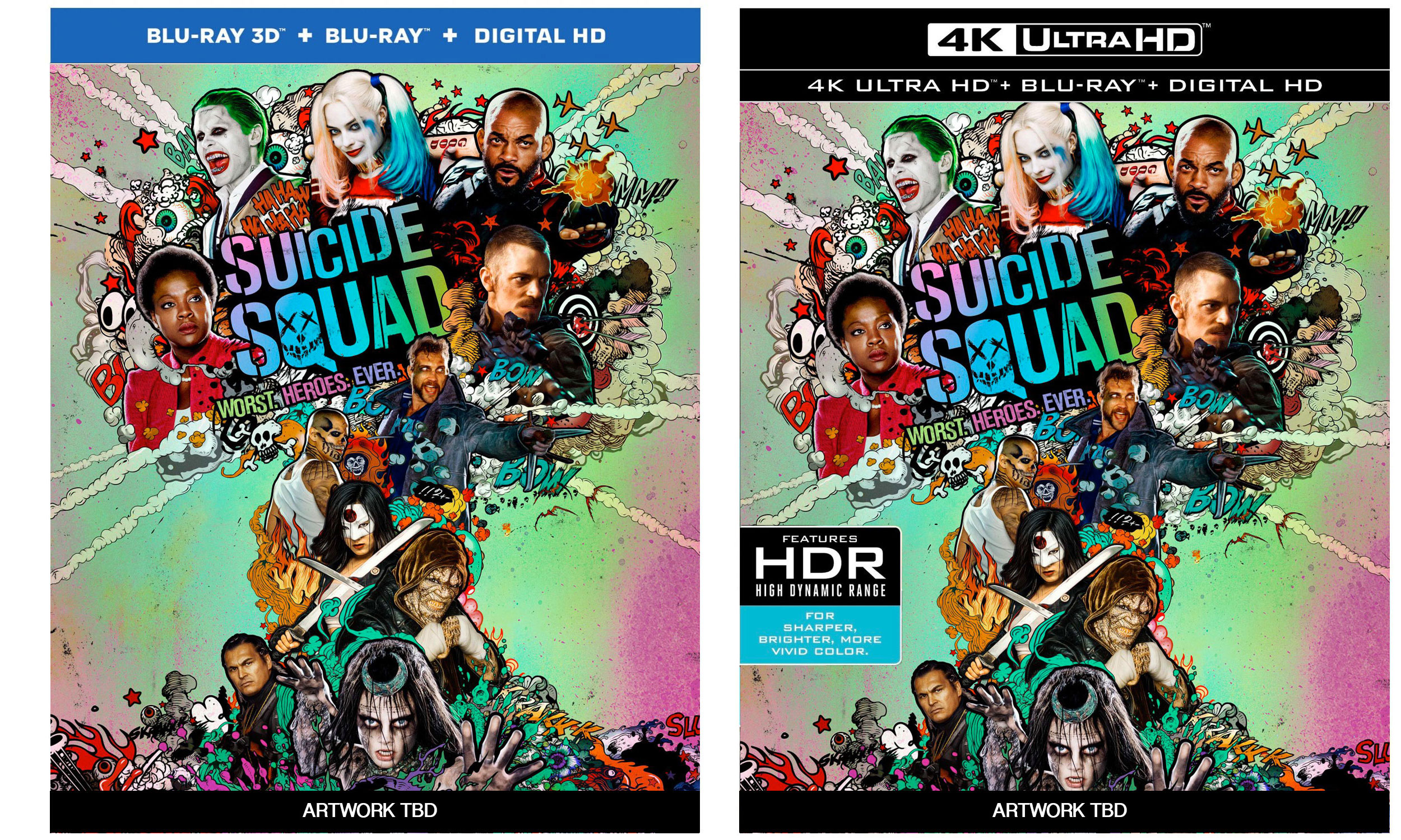 Suicide Squad Blu-ray & 4k Ultra HD Blu-ray Available For Pre-order – HD Report