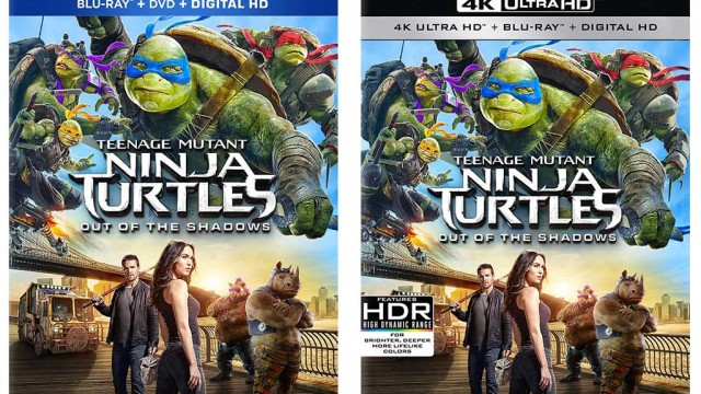 Teenage Mutant Ninja Turtles: Out of the Shadows Blu-ray Release Date
