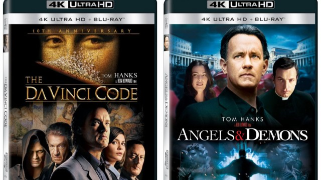 The Da Vinci Code & Angels & Demons Releasing To 4k Blu-ray