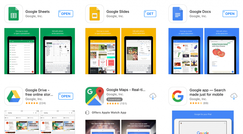Google Apps Now Support Split-View Multitasking on iPad