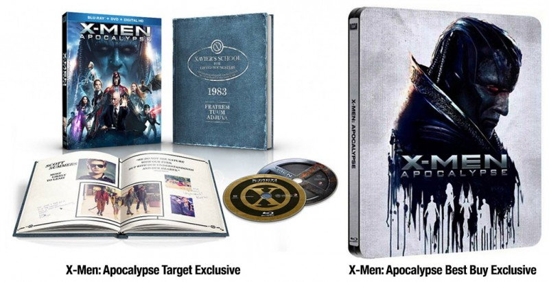 'X-Men: Apocalypse' Exclusive Blu-ray Editions From Best Buy & Target