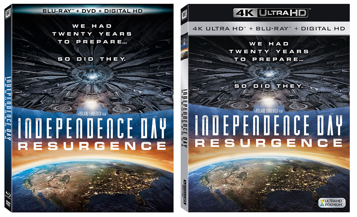 Independence Day Resurgence Blu Ray Amp Digital Release