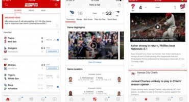 ESPN App Updated For iOS 10 On iPhone & iPad