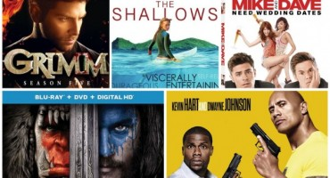 New On Blu-ray: Warcraft, Central Intelligence, The Shallows, & More