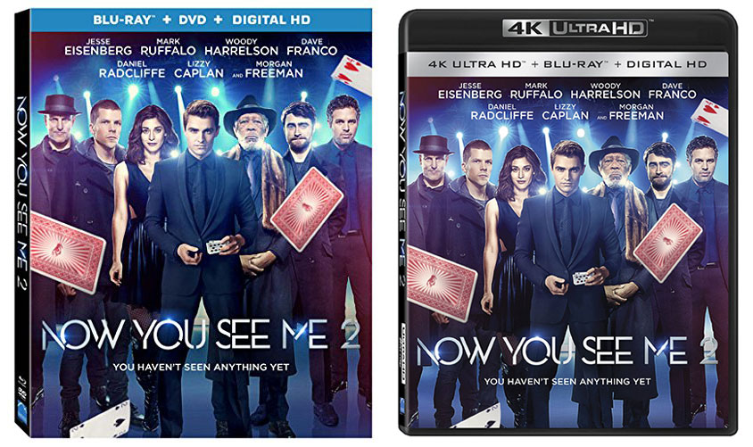 'Now You See Me 2' Releasing to Blu-ray & 4k Ultra HD Blu-ray – HD Report