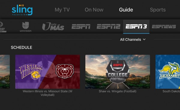 ESPN3 & SEC Network+ Added To Sling TV Lineup – HD Report