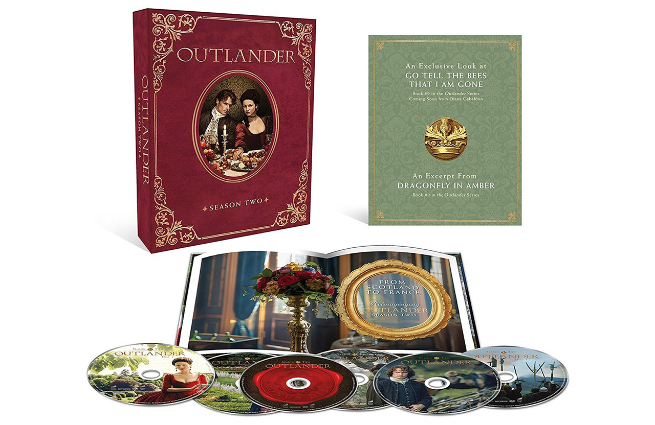 Outlander Season 2 Blu-ray Collector's Edition Open