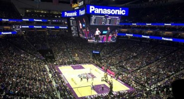 Giant Panasonic 4k Display Debuts At Kings' NBA Opener