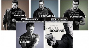 Jason Bourne Films Releasing to 4k Blu-ray with HDR & DTS-X Audio