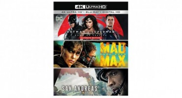 Amazon Exclusive Packs Three 4k Ultra HD Blu-rays