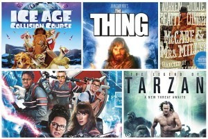 Ghostbusters, Ice Age 5, & Legend of Tarzan Among New Blu-ray Releases