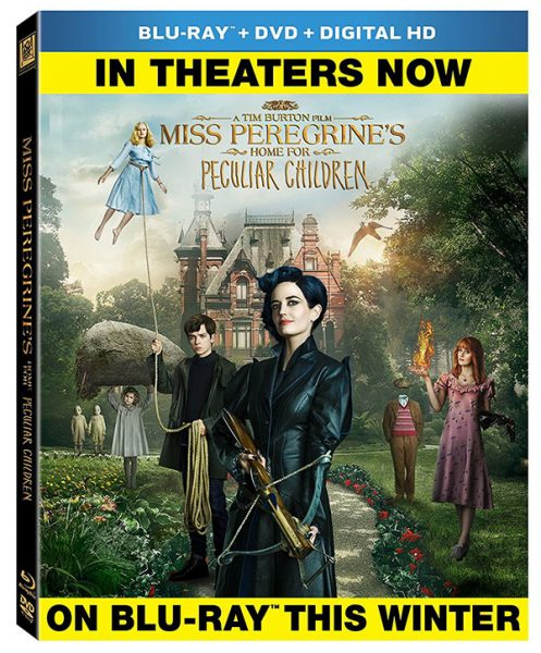 Miss Peregrine S Home For Peculiar Children Blu Ray Release Date