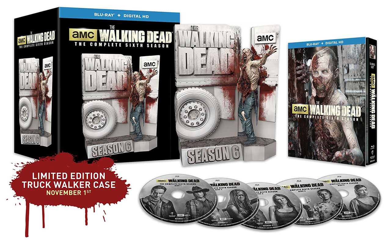 The Walking Dead Season 6 Limited Edition Released To Blu
