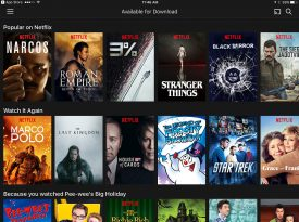 Netflix Launches Downloads With Hundreds Of Titles Available