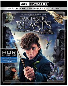 Fantastic Beasts and Where to Find Them (2016) 4k Blu-ray
