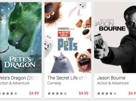 Google Play Offers 50% Off One Movie Rental Or Purchase