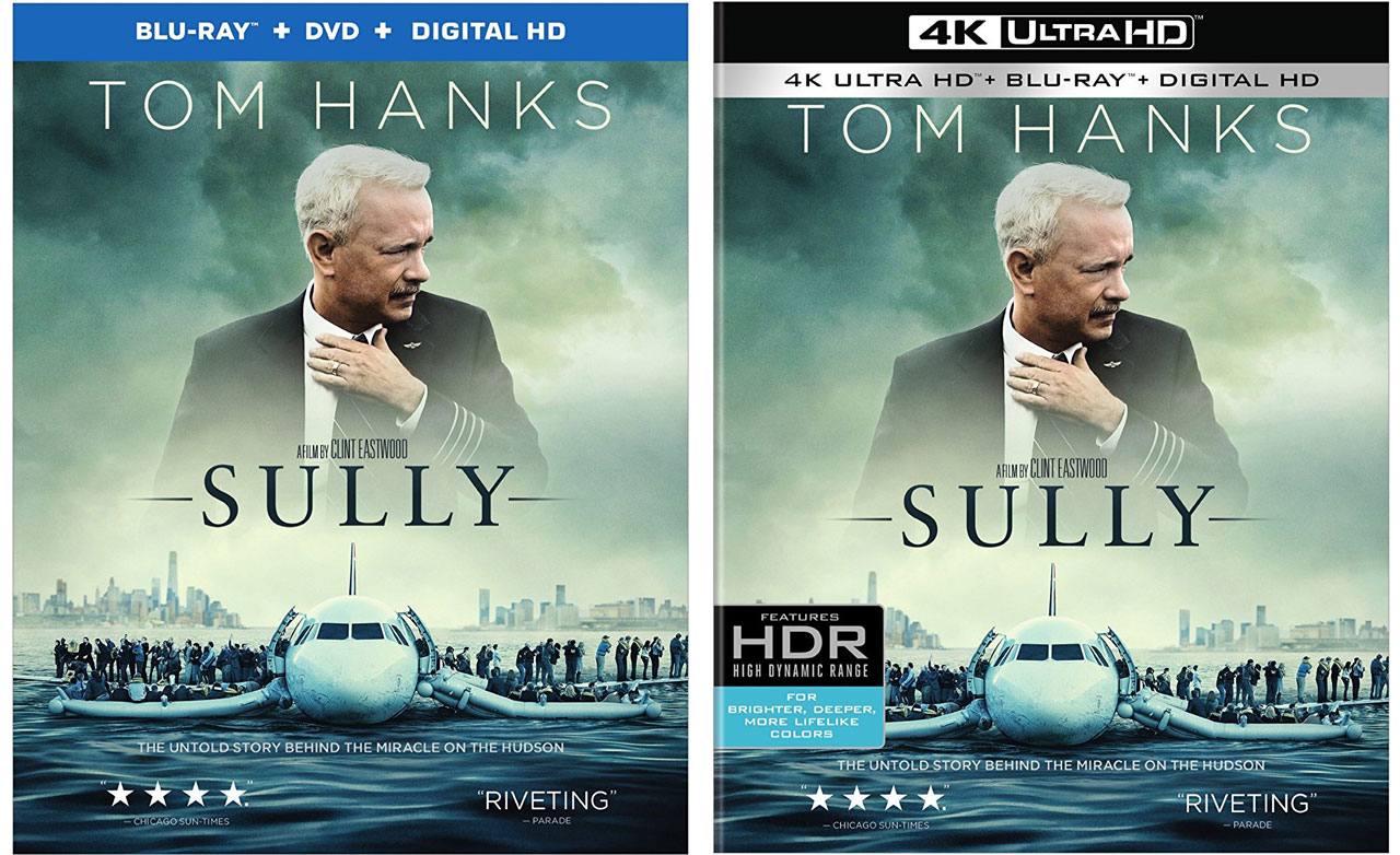 Warner Bros Releases Sully To Blu Ray Amp 4k Ultra Hd