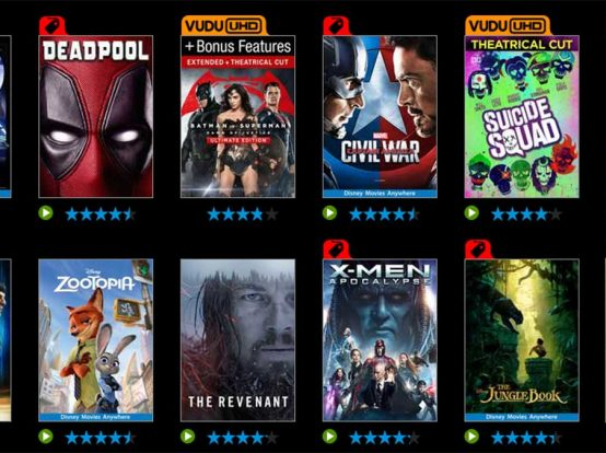 Vudu Offers 50% Off Year's Best Digital Movies