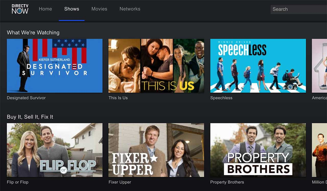 AT&T's 'next-gen' TV platform rollout will start on DirecTV Now