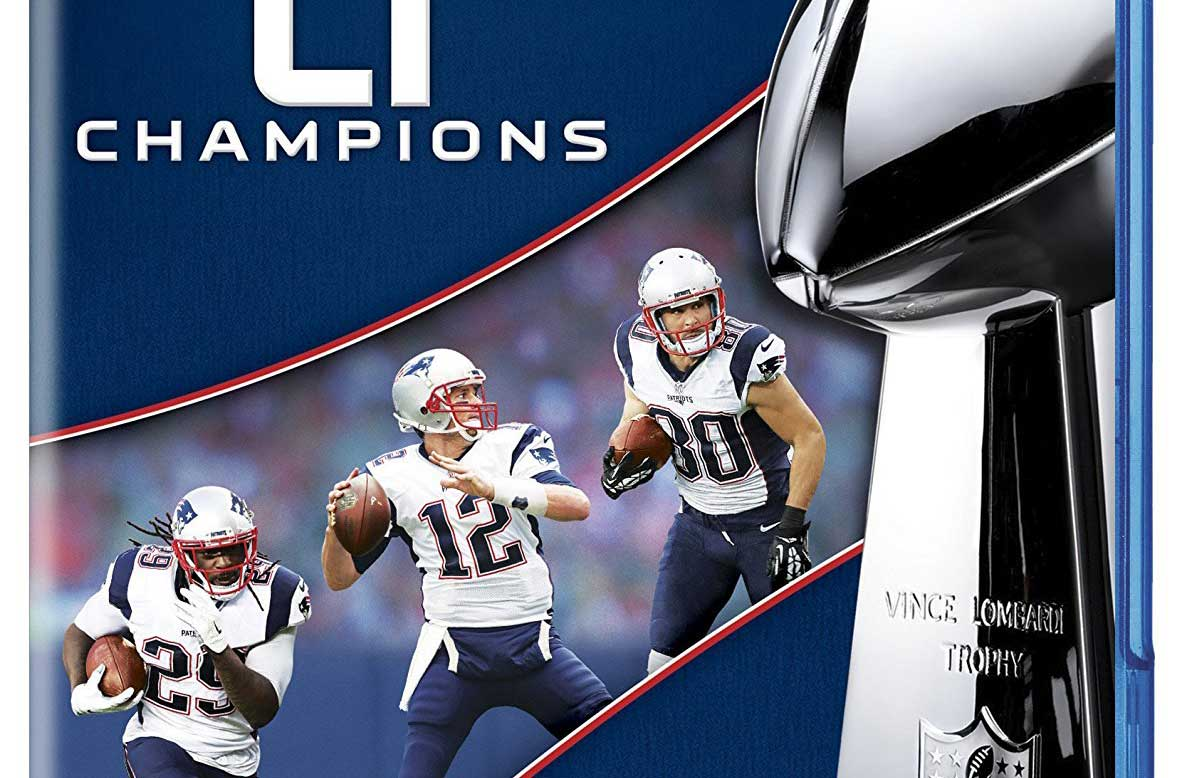 New England Patriots Super Bowl Li Releasing To Blu Ray