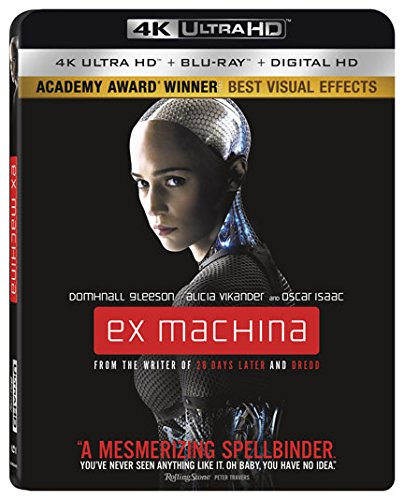 Ex Machina 4k Blu-ray